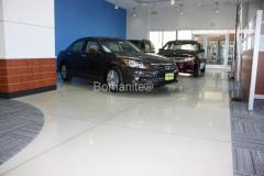 Markley Honda in Fort Collins, CO, Bomanite Modena Custom Polished Concrete Floor.