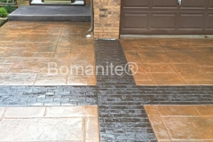 Bomanite Imprint Systems with Bomacron-Textured and Pattern Imprinted Concrete